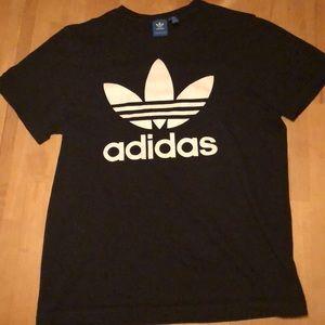 Classic Black Adidas Shirt